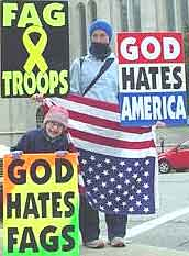 Westboro Baptist Church, Topeka, Kansas