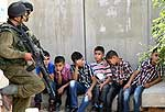 Palestinian children arrested by Israel